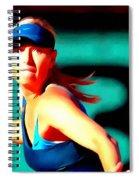 Maria Sharapova Tennis Spiral Notebook
