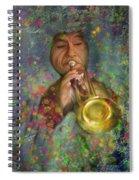 Mariachi Trumpet Player Spiral Notebook