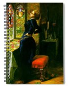 Mariana In The Moated Grange 1851 Spiral Notebook