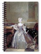 Mariana Victoria Of Spain (1718-1781) Spiral Notebook