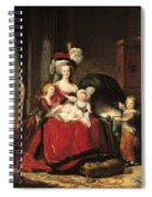 Marie Antoinette And Her Children Spiral Notebook