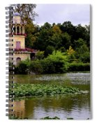 Marie - Antoinette's Estate Palace Of Versailles - Paris Spiral Notebook