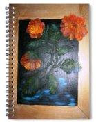 Marigolds Spiral Notebook