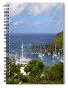 Marigot Bay Spiral Notebook