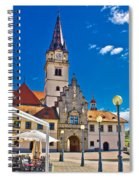 Marija Bistrica Marianic Sanctuary In Croatia Spiral Notebook