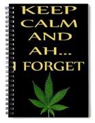 Marijuana 4 Spiral Notebook