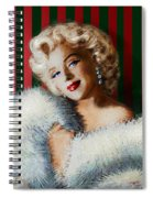 Marilyn 126 D 3 Spiral Notebook