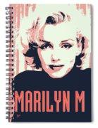 Marilyn M Spiral Notebook