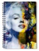 Marilyn Spiral Notebook