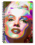 Marilyn Monroe 01 - Abstarct Spiral Notebook