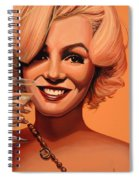 Marilyn Monroe 5 Spiral Notebook