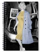 Marilyn Monroe 6 Spiral Notebook