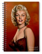 Marilyn Monroe 6 Spiral Notebook
