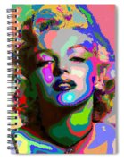 Marilyn Monroe - Abstract 1 Spiral Notebook