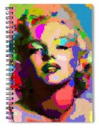 Marilyn Monroe - Abstract Spiral Notebook
