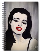 Marilyn Monroe Aka Norma Jean The Beginning Spiral Notebook