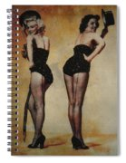 Marilyn Monroe And Jane Russell Spiral Notebook