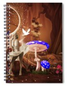 Marilyn Monroe In Fantasy Land Spiral Notebook