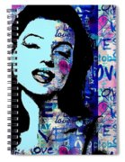 Marilyn Monroe. Loved Lost . Loved Again 2 Spiral Notebook