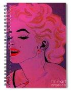 Marilyn Monroe Pop Art Spiral Notebook