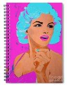 Marilyn Monroe Undisputed Beauty Spiral Notebook