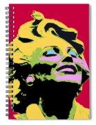 Marilyn Three Spiral Notebook