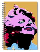 Marilyn Two Spiral Notebook
