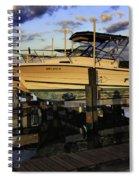 Marina At Dawn Spiral Notebook