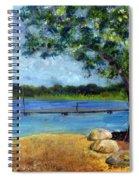 Marina At Ocean Inlet In  Boynton Beach Spiral Notebook
