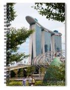 Marina Bay Sands Hotel 02 Spiral Notebook