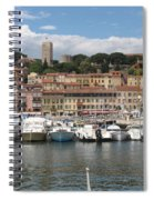 Marina Cannes Spiral Notebook