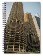Marina City Chicago Spiral Notebook