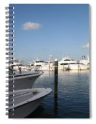 Marina Key West - Harbored Fun Spiral Notebook