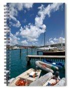 Marina St Thomas Virgin Islands Spiral Notebook