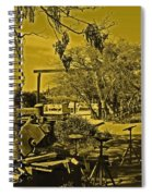 Marina Upkeep Spiral Notebook