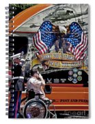 Marine And Wounded Warrior Spiral Notebook