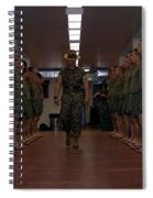 Marine Basic Training Spiral Notebook