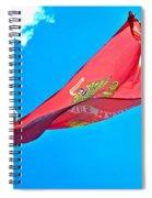 Marine Corps Flag Spiral Notebook