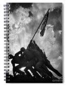 Marine Corps War Memorial Spiral Notebook