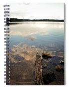 Marion Lake Reflections Spiral Notebook