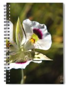 Mariposa Lily Spiral Notebook