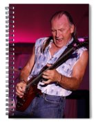 Mark Rocking In Lewiston 2009 Spiral Notebook