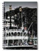 Mark Twain Riverboat Frontierland Disneyland Vertical Sc Spiral Notebook