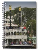 Mark Twain Riverboat Frontierland Disneyland Vertical Spiral Notebook
