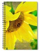 Mark Twain's Sunflowers Spiral Notebook
