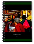 Market Day In Chinatown  Spiral Notebook