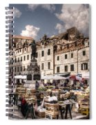 Market Day In The White City Spiral Notebook