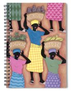 Market Day Spiral Notebook