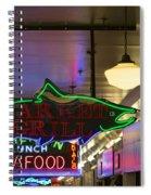 Market Grill Spiral Notebook