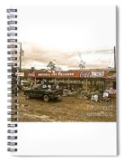 Market In Costa Rica  Spiral Notebook